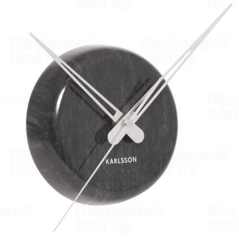 Dizajnové nástenné hodiny KA5535BK Karlsson 30cm