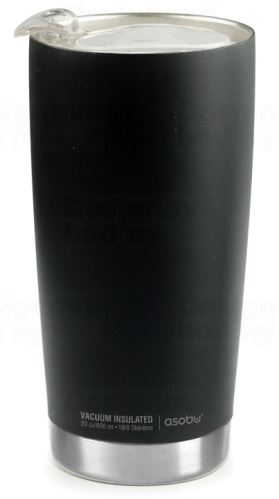 ASOBO luxusné termohrnček The Gladiator black & silver 600ml