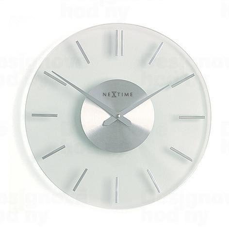 Dizajnové nástenné hodiny 2632 Nextime STRIPE 31cm