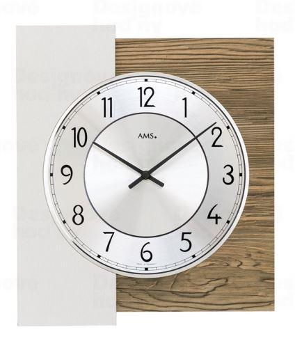 Dizajnové nástenné hodiny 9582 AMS 29cm