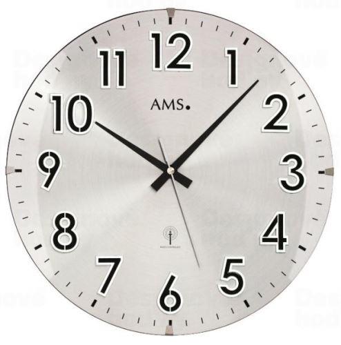 Nástenné hodiny 5973 AMS riadené rádiovým signálom 32cm