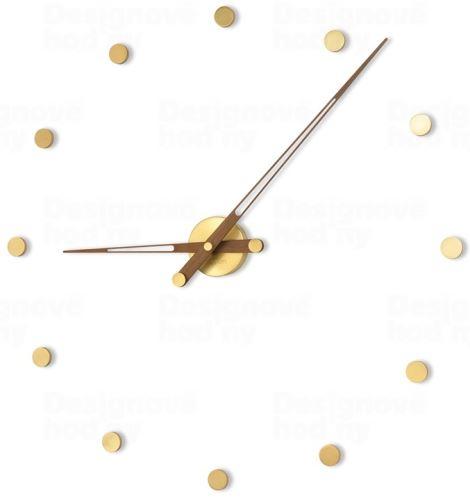 Dizajnové nástenné hodiny Nomon Rodon 12N Gold 74cm
