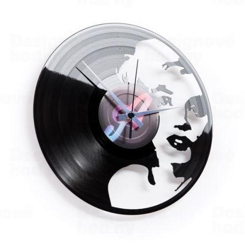 Dizajnové nástenné hodiny Discoclock 051 Marylin 30cm