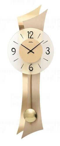 Kyvadlové nástenné hodiny 7427 AMS 70cm