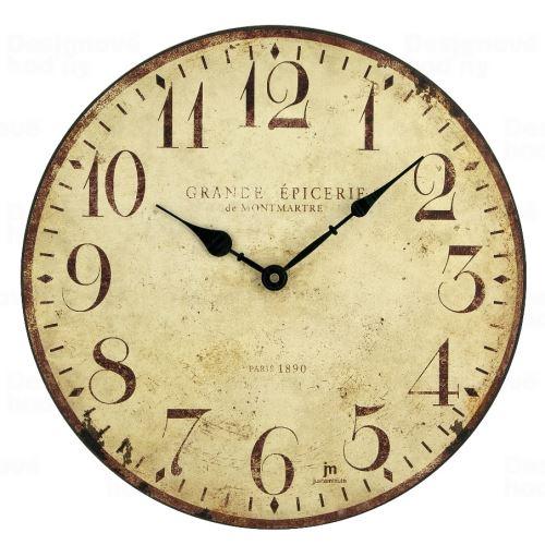 Dizajnové nástenné hodiny Lowell 21410 Clocks 34cm