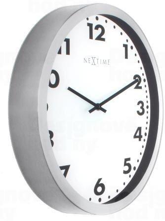 Dizajnové nástenné hodiny 3032 Nextime Magic Arabic 35cm