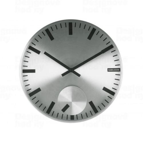 Dizajnové nástenné hodiny 5254SI Karlsson 30cm