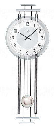 Kyvadlové nástenné hodiny 7464 AMS 65cm