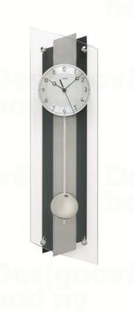 Kyvadlové nástenné hodiny 5262 AMS riadené rádiovým signálom 59cm