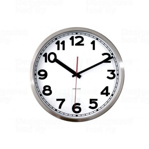 Dizajnové nástenné hodiny 850296 Karlsson 29cm