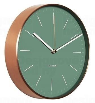 Dizajnové nástenné hodiny KA5507GR Karlsson 28cm