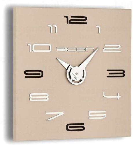 Dizajnové nástenné hodiny I119WT IncantesimoDesign 40cm