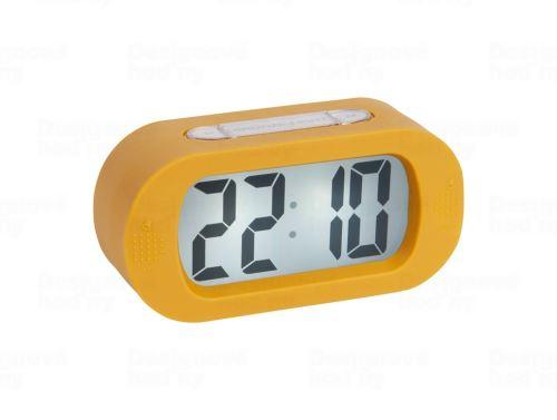 Stolové digitálne hodiny-budík Karlsson KA5753YE