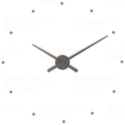 Dizajnové nástenné hodiny Nomon OJ grafitové 80cm
