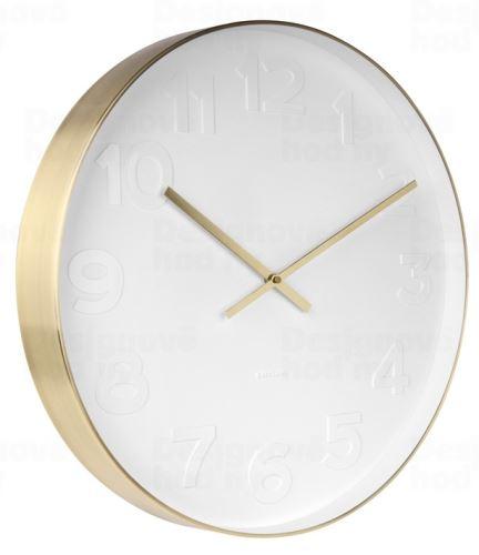 Dizajnové nástenné hodiny KA5680 Karlsson 51cm