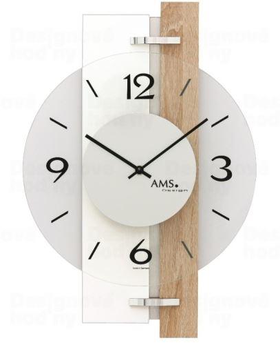 Nástenné hodiny 9557 AMS 40cm