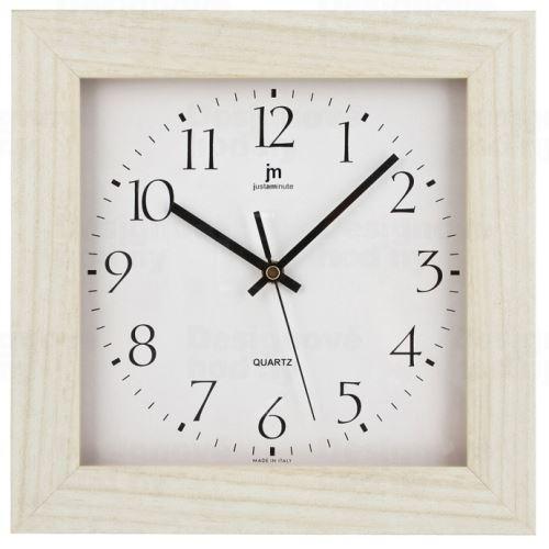 Dizajnové nástenné hodiny 02821R Lowell 27cm