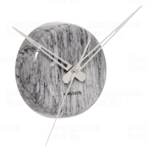 Dizajnové nástenné hodiny KA5535GY Karlsson 30cm