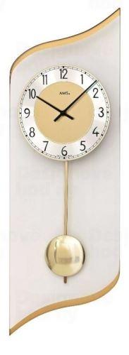 Nástenné kyvadlové hodiny 7437 AMS 55cm