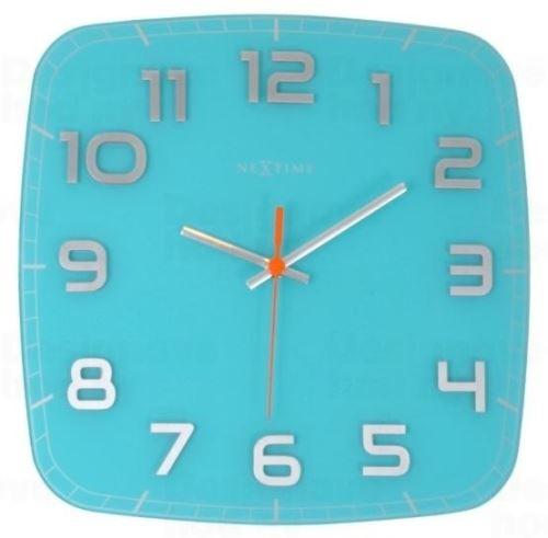Dizajnové nástenné hodiny 8816tq Nextime Classy square 30cm