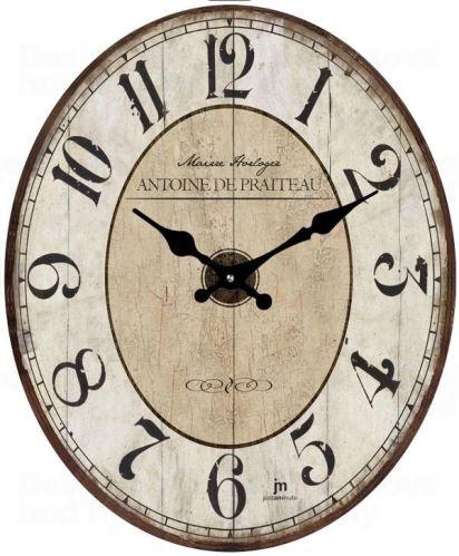 Dizajnové nástenné hodiny 14860 Lowell 39cm