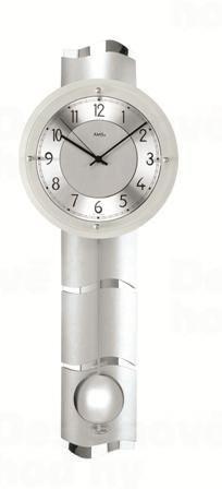 Kyvadlové nástenné hodiny 5215 AMS riadené rádiovým signálom 66cm