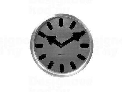 Dizajnové nástenné hodiny 5283BK Karlsson 30cm
