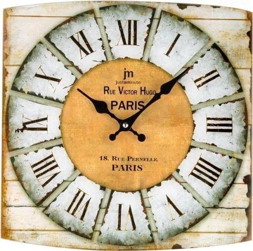 Dizajnové nástenné hodiny 14876 Lowell 34cm