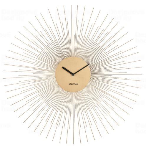 Dizajnové nástenné hodiny 5818GD Karlsson 60cm