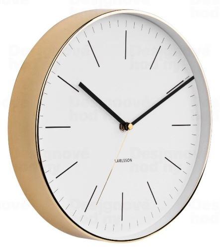 Dizajnové nástenné hodiny 5695WH Karlsson 28cm