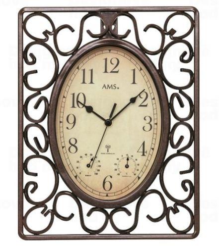 Nástenné hodiny 5976 AMS riadené rádiovým signálom 31cm