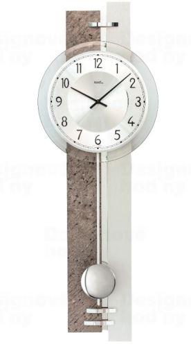 Kyvadlové nástenné hodiny 7440 AMS 67cm