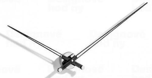 Dizajnové nástenné hodiny Nomon Axioma Wenge 105cm
