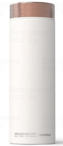 ASOBO luxusné termoska Le Baton white / copper 500ml