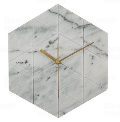 Dizajnové nástenné hodiny KA5591WH Karlsson 28,5cm