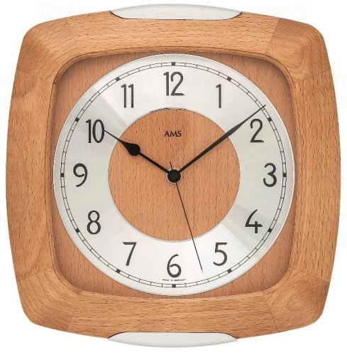 Nástenné hodiny 5804/18 AMS 28cm