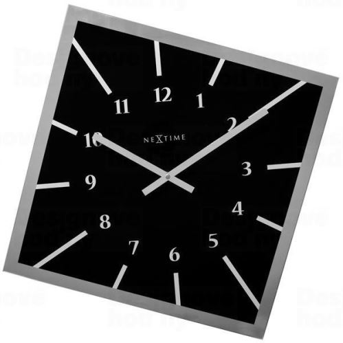 Dizajnové nástenné hodiny 8176zw Nextime Off Balance 61cm
