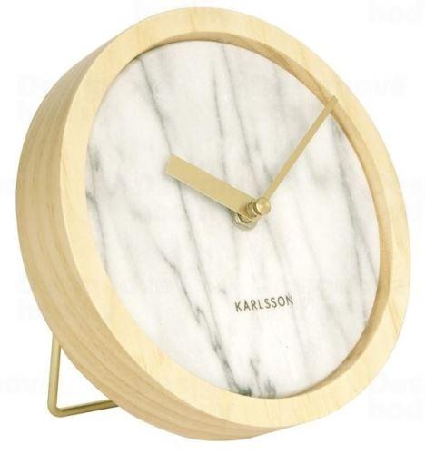 Dizajnové nástenné / stolové hodiny KA5583WH Karlsson 17cm