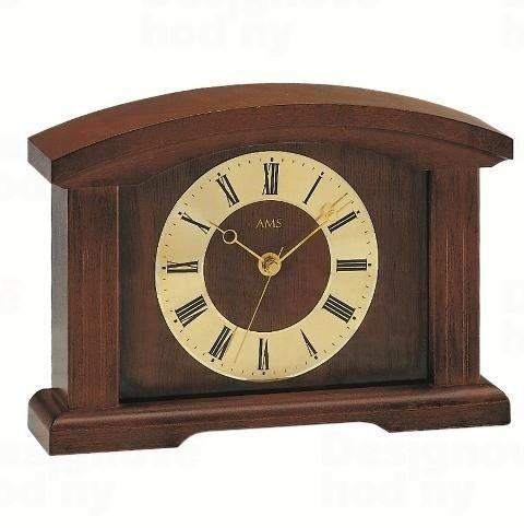 Stolné hodiny 5138/1 AMS riadené rádiovým signálom 25cm