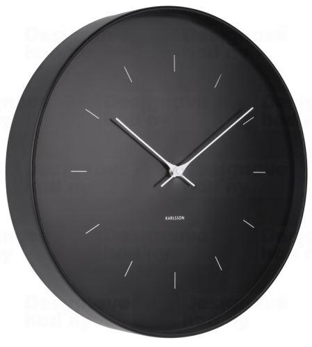 Dizajnové nástenné hodiny 5708BK Karlsson 27cm
