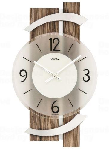 Nástenné hodiny 9545 AMS 40cm