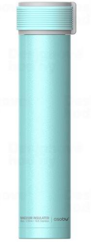 ASOBO trendy cestovné termofľaša Skinny tyrkysová 230ml