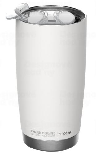 ASOBO luxusné termohrnček The Gladiator white & silver 600ml