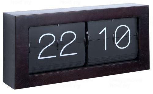 Dizajnové nástenné / stolové preklápací hodiny 5642DW Karlsson 37cm