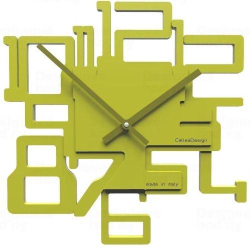Dizajnové hodiny 10-003 CalleaDesign Kron 32cm (viac farebných verzií) Farba rubínová tmavo červená - 65
