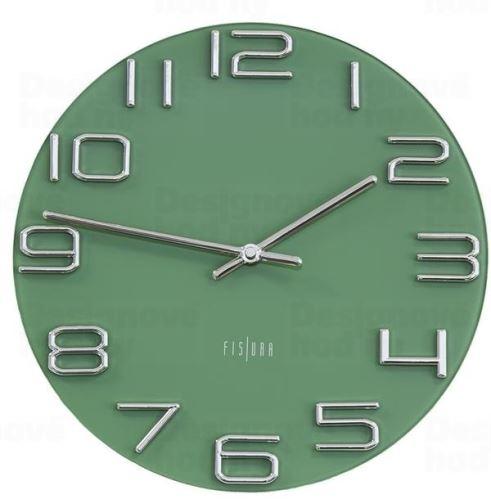 Dizajnové nástenné hodiny CL0290 fisúry 30cm