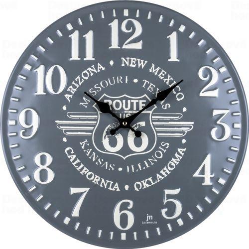 Dizajnové nástenné hodiny 21507 Lowell 40cm