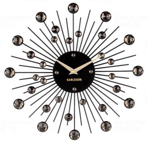 Dizajnové nástenné hodiny 4860BK Karlsson 30cm