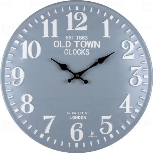 Dizajnové nástenné hodiny 21506 Lowell 40cm