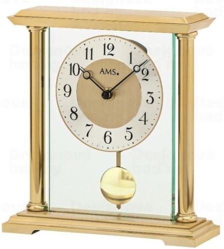 Luxusné stolové kyvadlové hodiny 1143 AMS 22cm